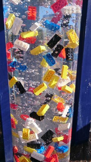 Legofontän