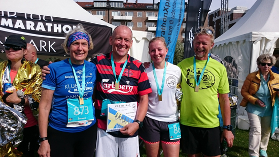 Klubb 100 marathon